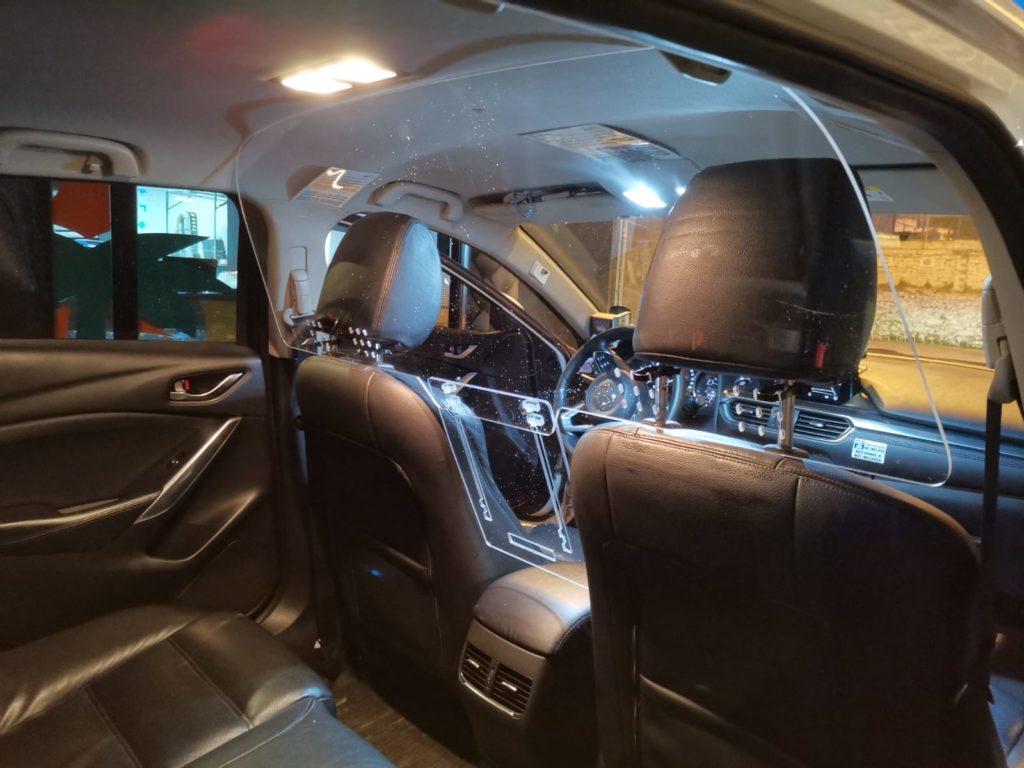 Mampara de Proteccion Taxi Barcelona 665 807 804
